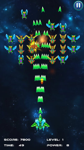 Galaxy Attack: Alien Shooter for the iPhone