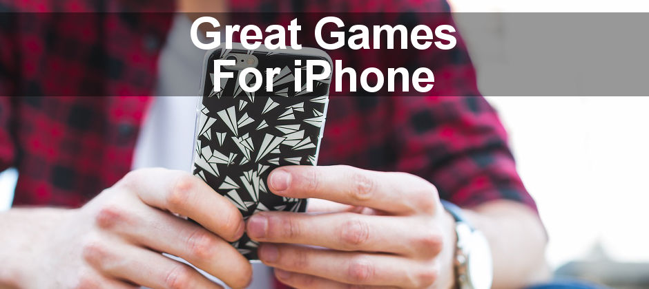 iPhone game reviews: 3 games for the iPhone are tested and found to be great fun! Take a break and play some games to relax!