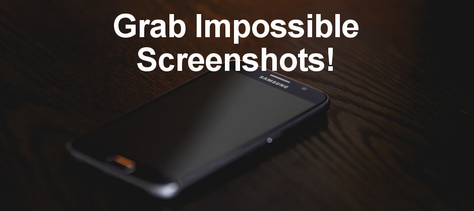 Is it possible to take a screenshot that includes hidden areas off the screen? Yes, if you have a recent Samsung phone. Here's how to do it.