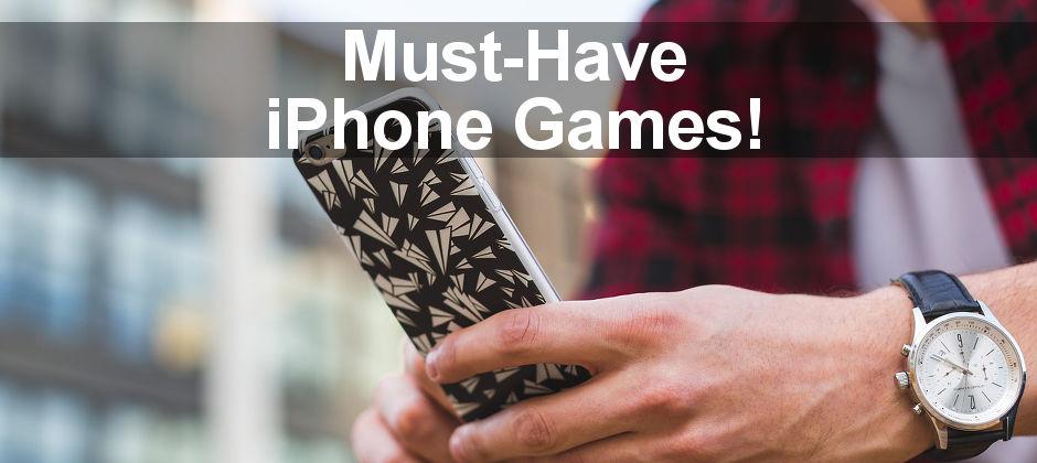 iPhone games are great for when you need to take a break and relax. Here are some fun games you should keep on your phone for those occasions.