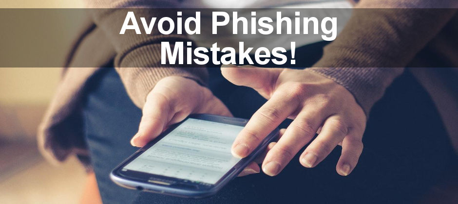 Top tips for protecting yourself when accessing the internet when using your phone. Phishing, virus protection and more.