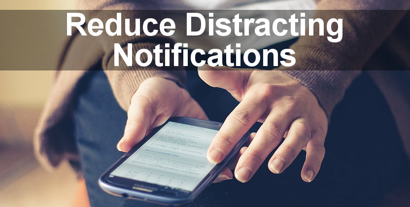 Customise notifications on Android phones to reduce disturbances and irritations. Choose which apps are allow to show notifications.