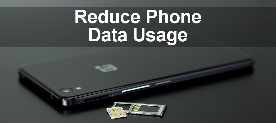 Top tips to take control of the data usage on your Android phone. Stay within your limit and reduce the data used.