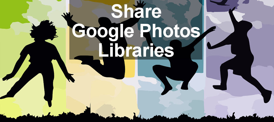 Share your Google Photos library wioth a partner so they can see your photos. It's great for couples and families for viewing each others photographs.