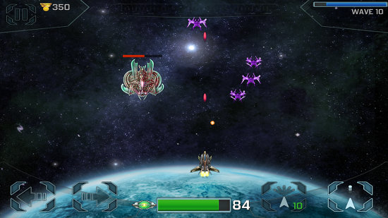 Space Cadet Defender HD for the iPhone