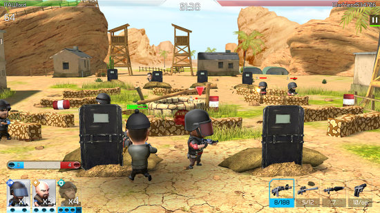WarFriends battle game for Android