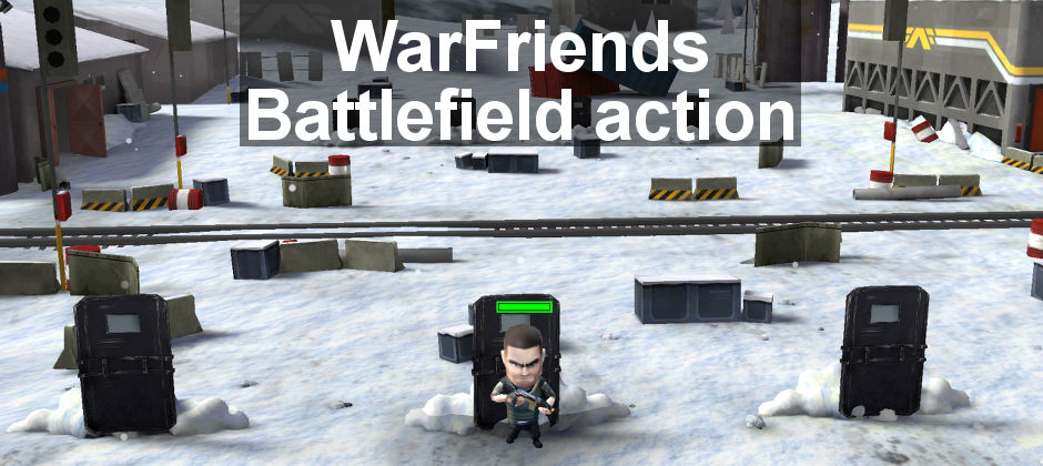 WarFriends review: battle other players for control of the battlefield in this wargame for Android and iOS. Fun cartoon-style 3D graphics and action.