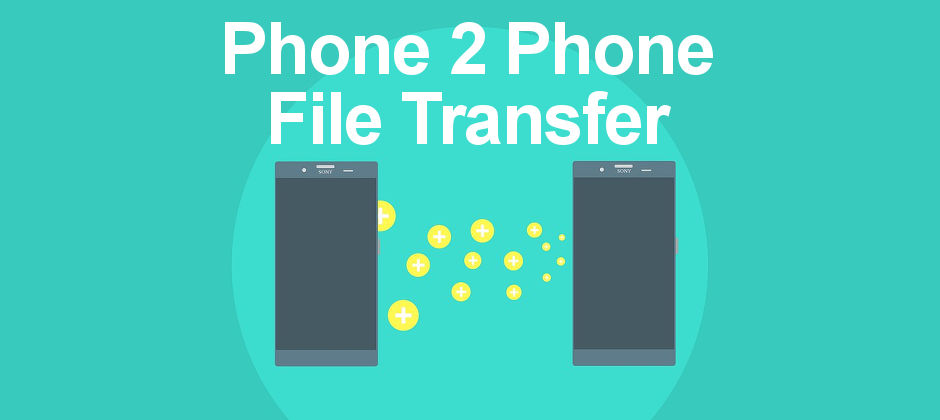 How to securely transfer files between Android devices using