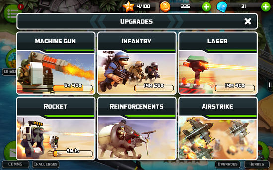 Alien Creeps tower defense game
