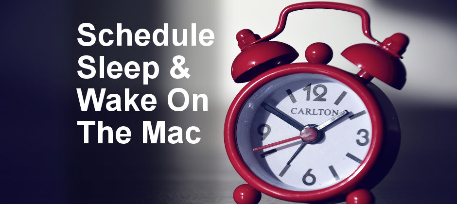 Configure the Mac to automatically shut down or enter sleep mode on a schedule. Set it to wake and start up on a schedule too.