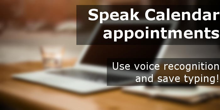 Speak to your Apple Mac and create Calendar events using voice recognition and dictation | rawinfopages.com
