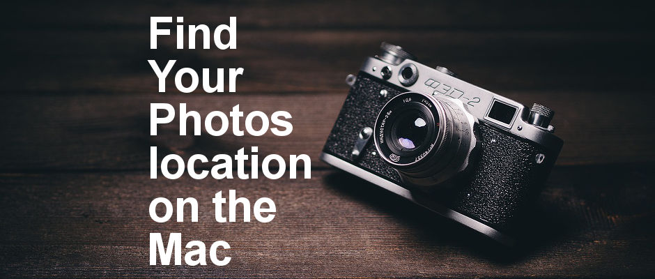 How to find the location of photos on the Apple Mac. Do you need to access the original images? Here's where to find them on the Mac's disk