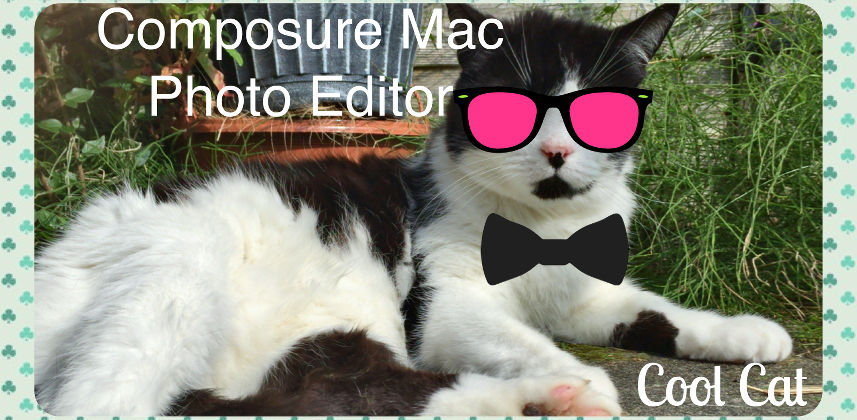 Composure is a free app for the Apple Mac for creating fun photo collages that contains images, text, stickers and frames. App review