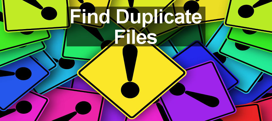 Scan the Apple Mac's disk for duplicate files and delete them to recover lost space
