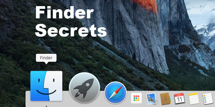 Hidden secrets of Finder in OS X on the Apple Mac