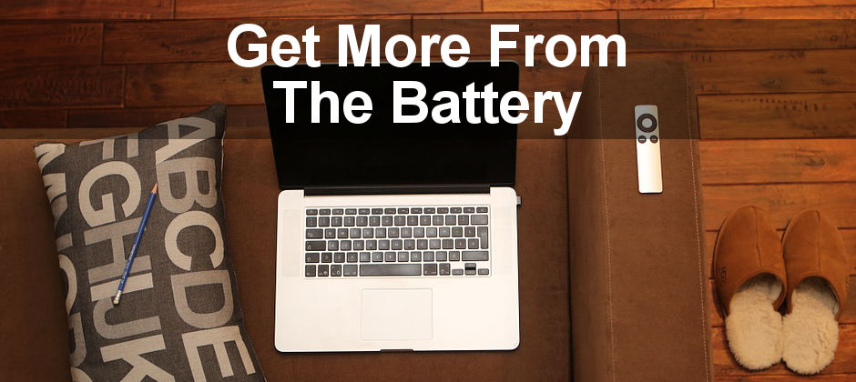 Monitor the battery on an Apple MacBook and reduce the battery drain so it lasts longer. See the health of the battery