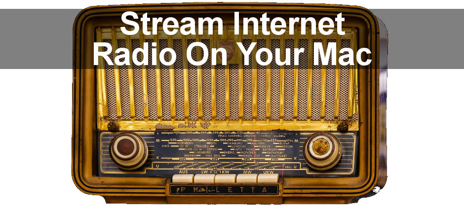 How to listen to streaming internet radio stations using iTunes and VLC media player on the Apple Mac. Listen to talk shows, sport, news and music.