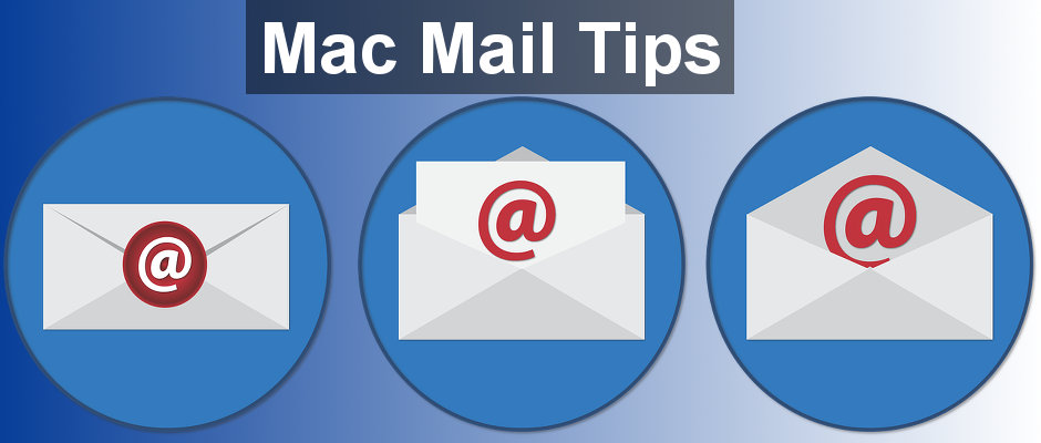 Top tips for Apple Mac Mail - how to choose which email account messages are sent from. How Mail decides which From address to use