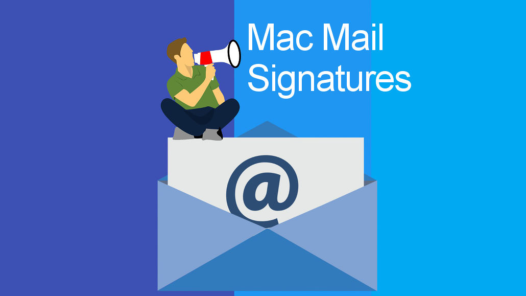 How to create custom email signatures in Mac Mail RAW Mac