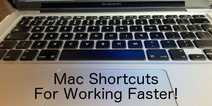 Learn some new keyboard shortcuts to work faster on your Apple Mac