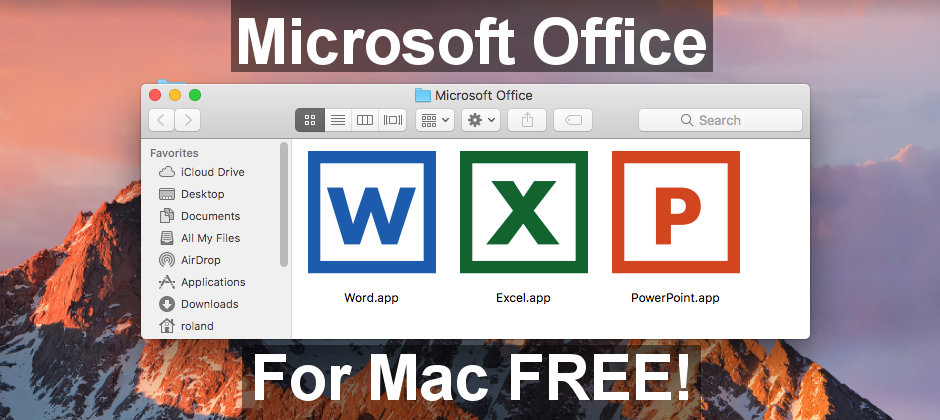 How to download Microsoft Office for the Apple Mac for free