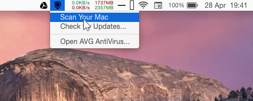 AVG Antivirus for Mac
