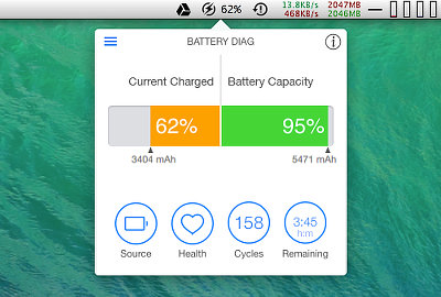 Battery Diag for OS X