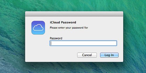 Turn iCloud features on or off
