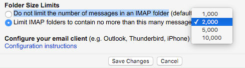 Stop Gmail downloading thousands of emails to Mac Mail | RAW Mac