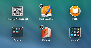 Delete apps in Launchpad on the Mac