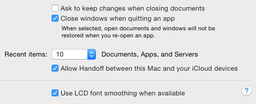 LCD font smoothing on the Apple Mac