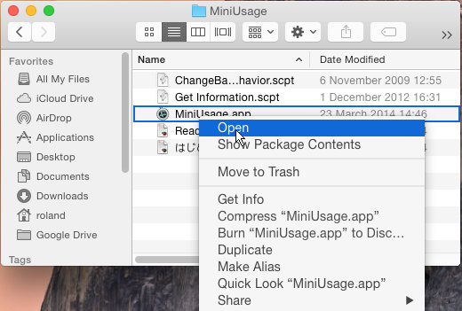 Open blocked apps in OS X