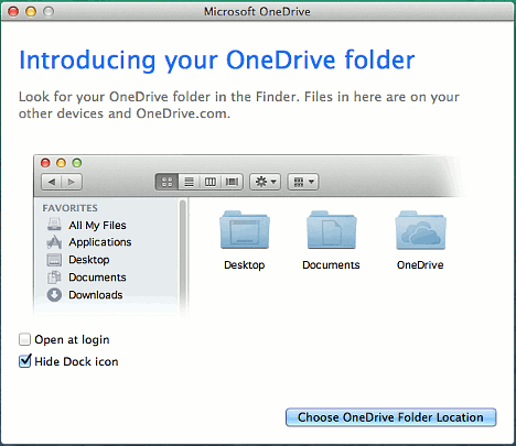 Microsoft OneDrive for OS X