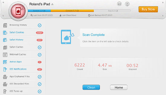 PhoneClean for OS X