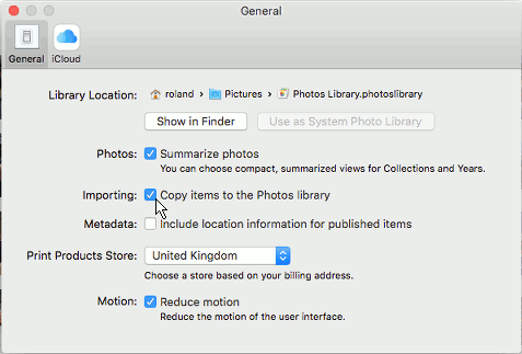 Scan photos on the Mac