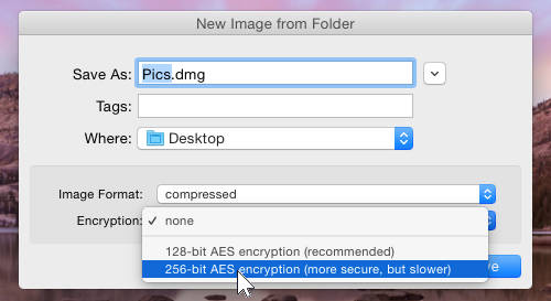 Securely email files in an encrypted dmg file on your Mac | RAW Mac