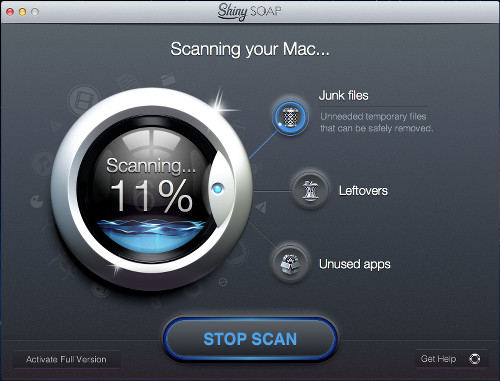 Shiny Soap for Mac