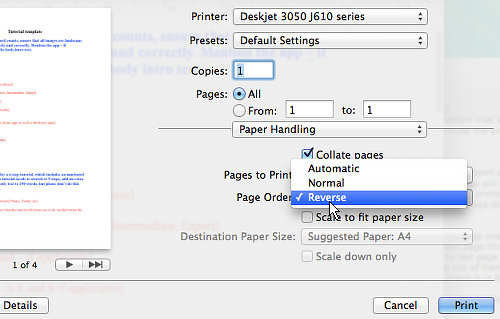 Use advanced print features in TextEdit | RAW Mac