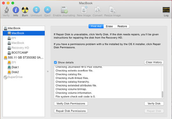 Three ways to fix disk errors and repair permissions in OS X | RAW Mac