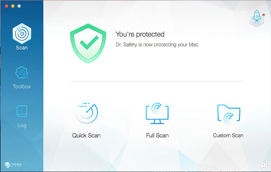Dr. Safety keeps your Mac clean and free of adware and viruses