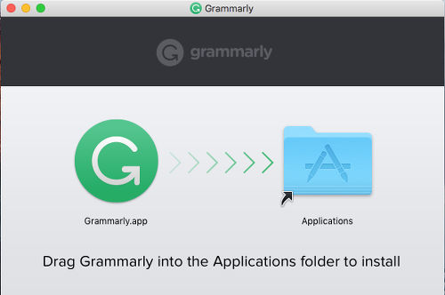 Install grammarly in OS X
