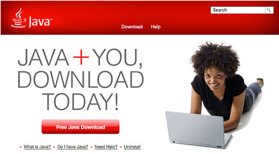 Java can be downloaded and installed on the Apple Mac in order to run Java software