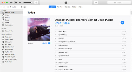 Use iTunes to upload CDs to Google Play Music on the Apple