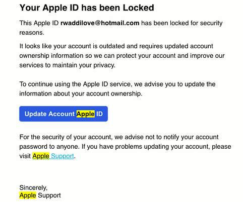 fake apple receipt email pdf