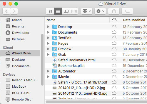 Make accessing iCloud files quicker and easier on the Apple Mac