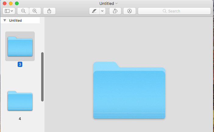 Customise Finder folders on the Mac with new colours and