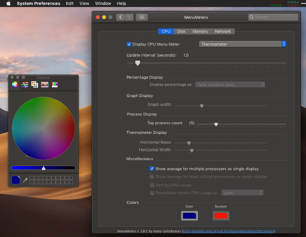 Monitor system resources from the menu bar in macOS Mojave | RAW Mac