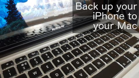 Back up your iPhone before you upgrade it to the next version of iOS