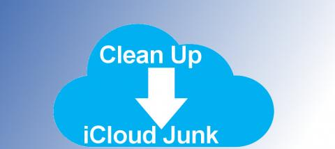 If you know where to look, you will find junk files in your Apple iCloud storage. Clean it up!