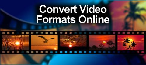 It is possible to convert videos from one file format to another at the KeepVide website.